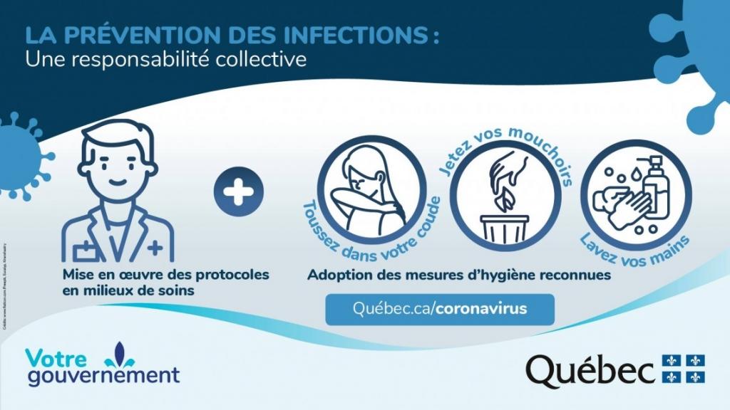 La prévention des infections : Une responsabilité collective (COVID-19)
